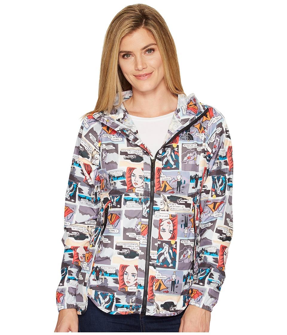 The North Face - Flyweight Hoodie (Glamping Print (Prior Season)) Women's Sweatshirt