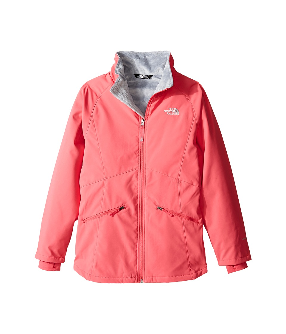 The North Face Kids - Girls' Mossbud Softshell Jacket (Little Kids/Big Kids) (Honeysuckle Pink/Honeysuckle Pink (Prior Season)) Girl's Jacket
