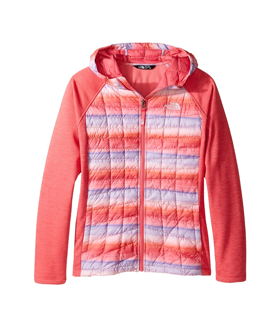 The North Face Kids - Thermoball Arcata Hoodie (Little Kids/Big Kids) (Honeysuckle Pink/Honeysuckle Pink/Lilac Sachet (Prior Season)) Girl's Sweatshirt