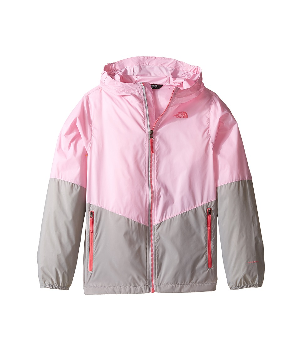 The North Face Kids - Flurry Wind Hoodie (Little Kids/Big Kids) (Lilac Sachet Pink/Metallic Silver (Prior Season)) Girl's Coat