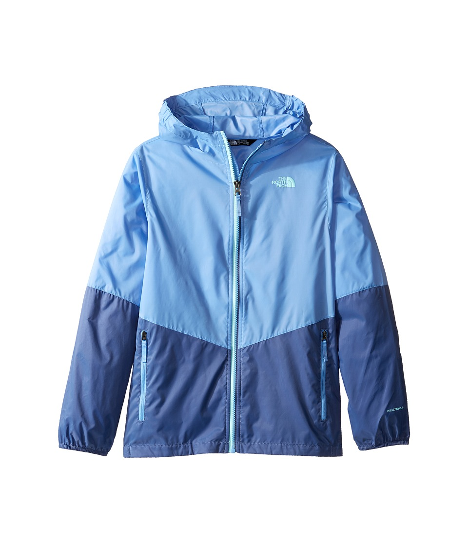 The North Face Kids - Flurry Wind Hoodie (Little Kids/Big Kids) (Provence Blue/Coastal Fjord Blue (Prior Season)) Girl's Coat