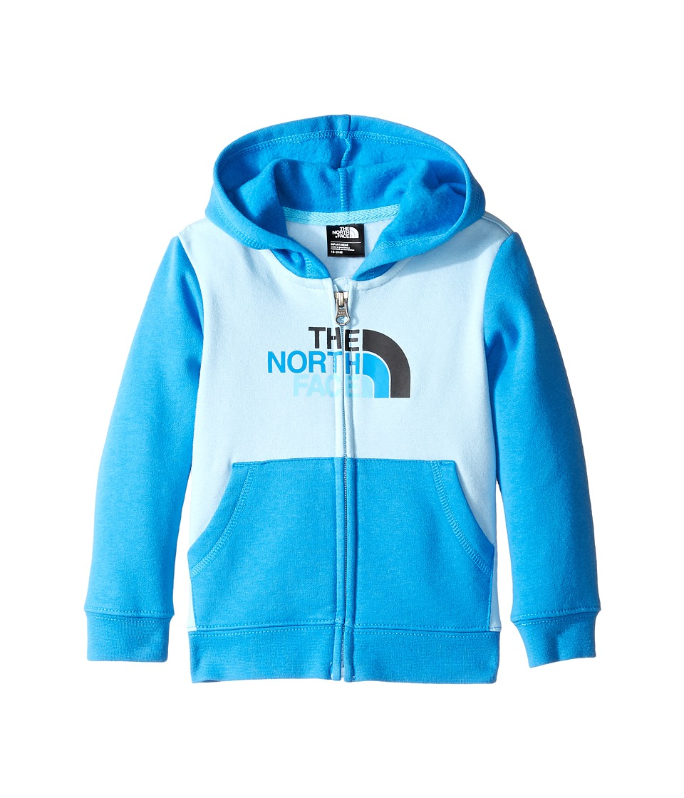 The North Face Kids - Logowear Full Zip Hoodie (Infant) (Sky Blue -Prior Season) Kid's Sweatshirt