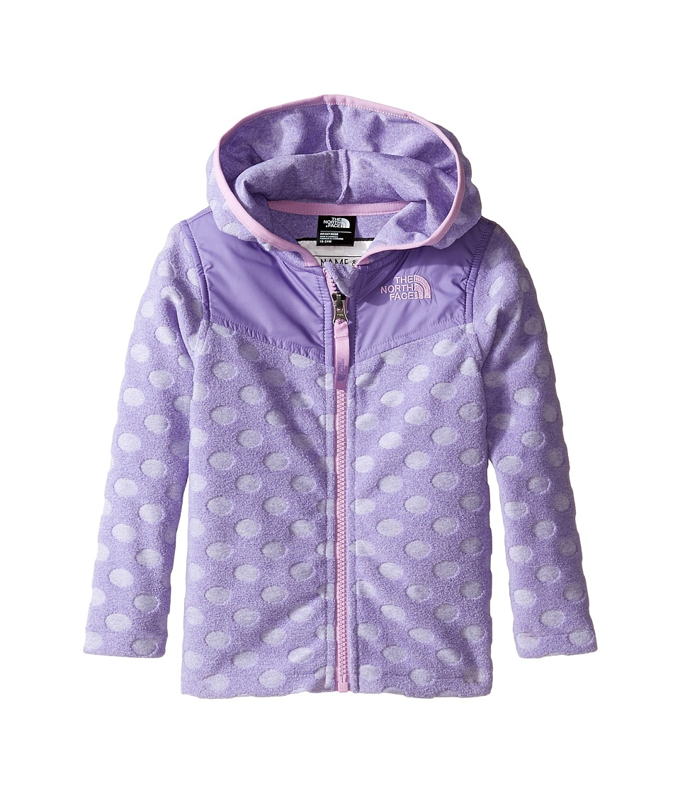 The North Face Kids - Lottie Dottie Hoodie (Infant) (Paisley Purple -Prior Season) Girl's Sweatshirt