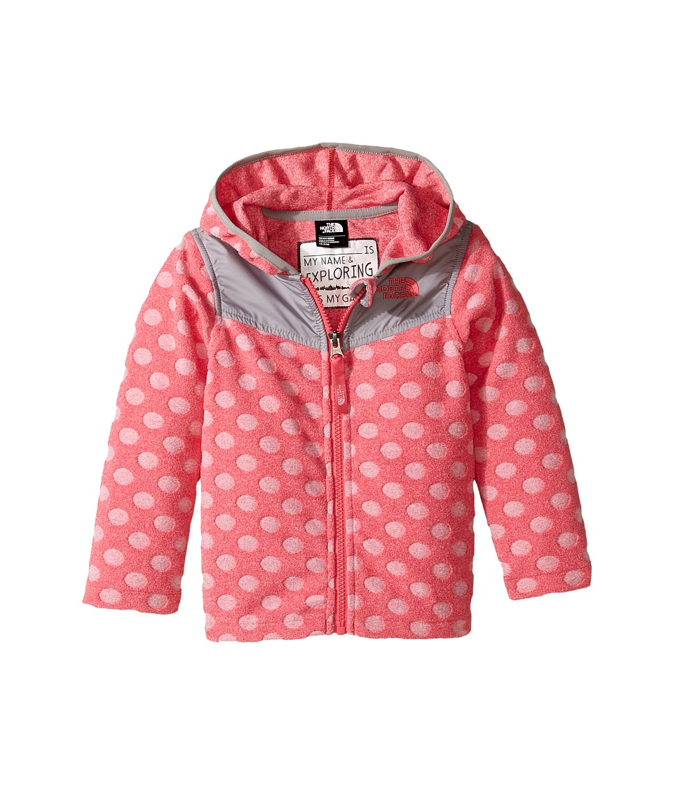 The North Face Kids - Lottie Dottie Hoodie (Infant) (Honeysuckle Pink -Prior Season) Girl's Sweatshirt