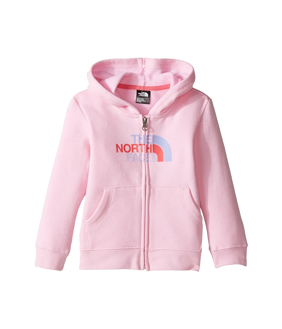 The North Face Kids - Logowear Full Zip Hoodie (Infant) (Lilac Sachet Pink -Prior Season) Kid's Sweatshirt