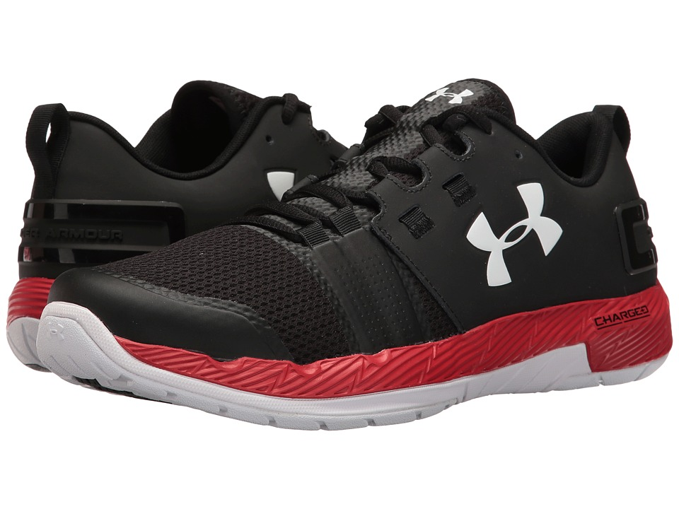 Under Armour - UA Commit TR (White/Rhino Gray/White) Men's Cross Training Shoes