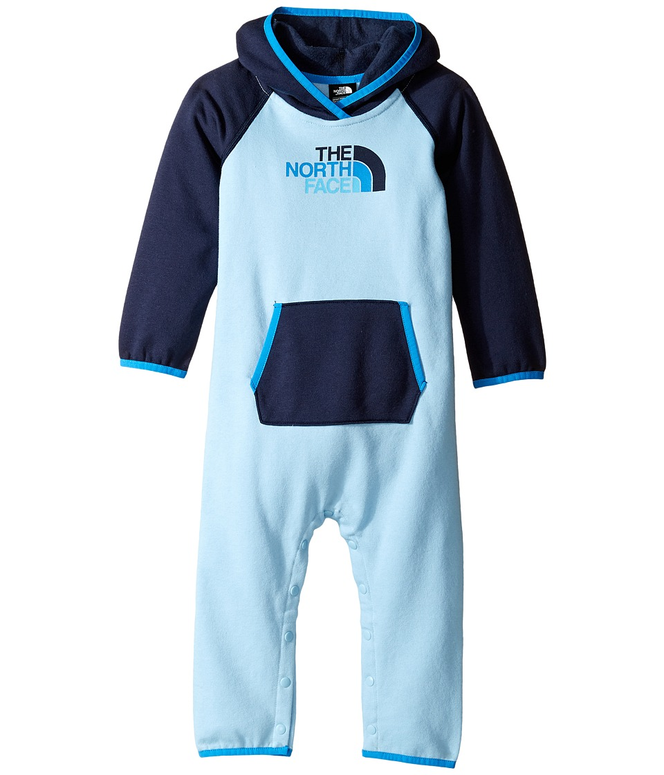 The North Face Kids - Logowear One-Piece (Infant) (Sky Blue -Prior Season) Kid's Jumpsuit & Rompers One Piece