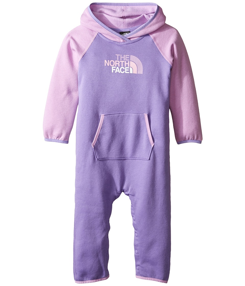 The North Face Kids - Logowear One-Piece (Infant) (Paisley Purple -Prior Season) Kid's Jumpsuit & Rompers One Piece