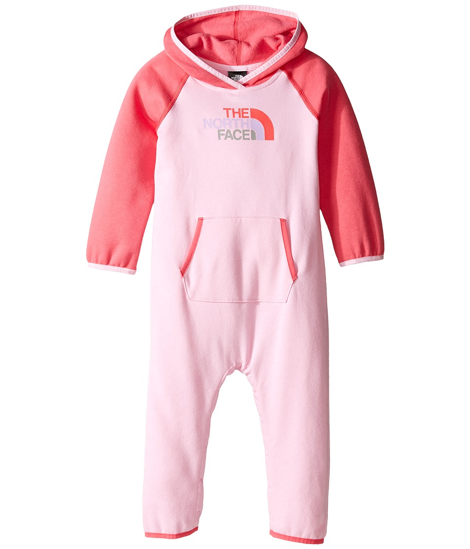 The North Face Kids - Logowear One-Piece (Infant) (Lilac Sachet Pink -Prior Season) Kid's Jumpsuit & Rompers One Piece