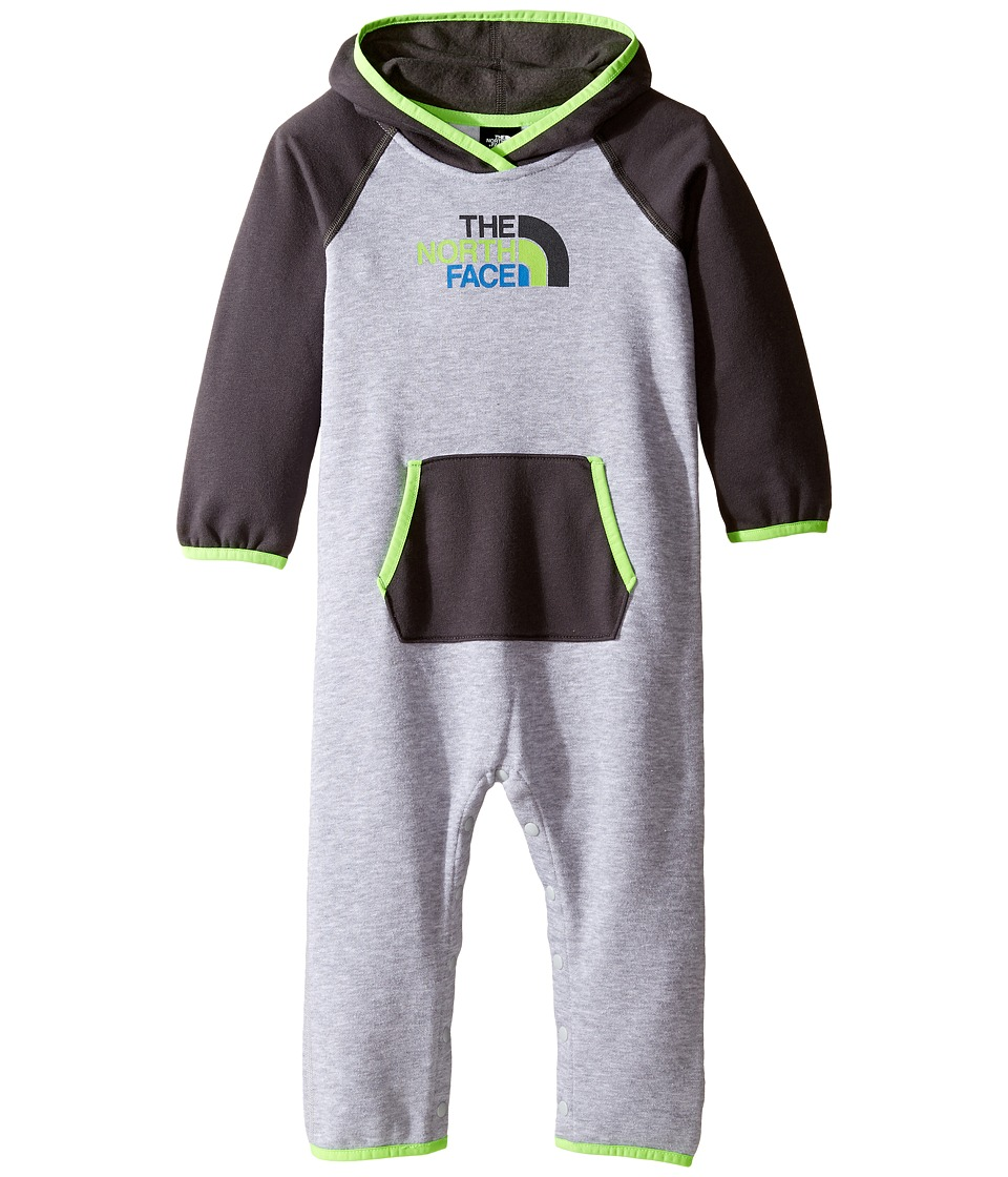 The North Face Kids - Logowear One-Piece (Infant) (TNF Light Grey Heather 2) Kid's Jumpsuit & Rompers One Piece
