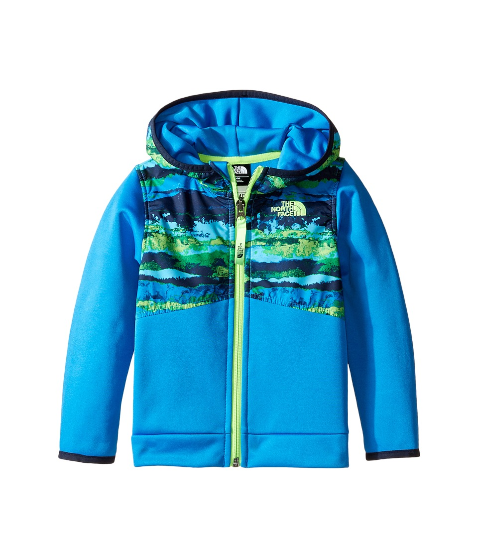 The North Face Kids - Kickin It Hoodie (Infant) (Clear Lake Blue Horizon Print -Prior Season) Kid's Sweatshirt
