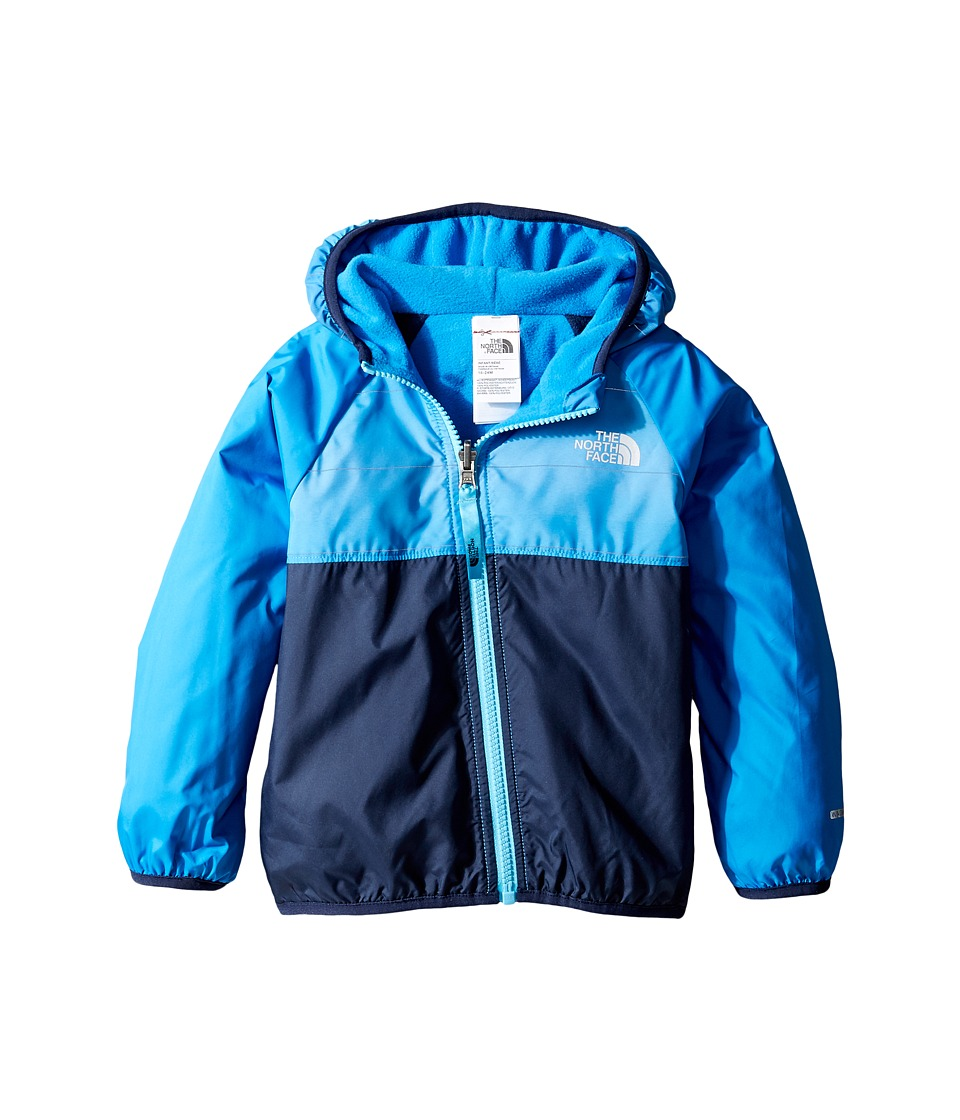 The North Face Kids - Reversible Breezeway Wind Jacket (Infant) (Clear Lake Blue Ombre Reflective Stripe -Prior Season) Kid's Coat