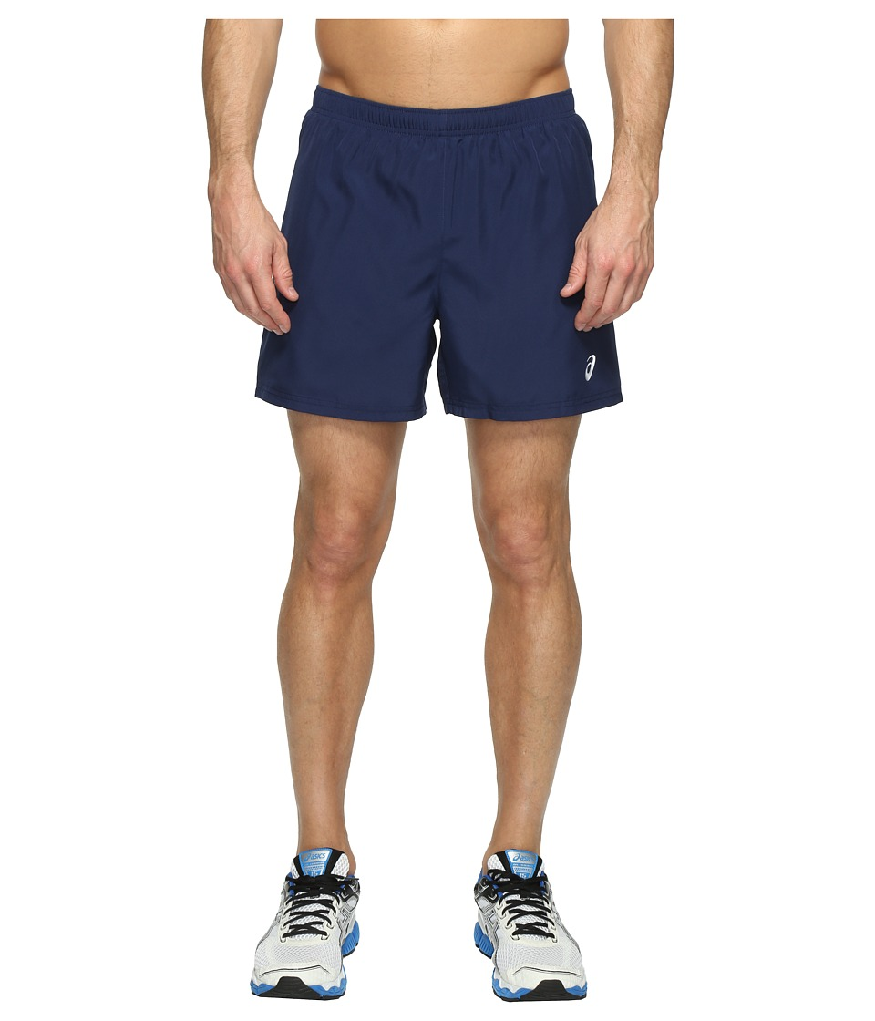 ASICS - Woven 5 Shorts (Indigo Blue) Men's Shorts