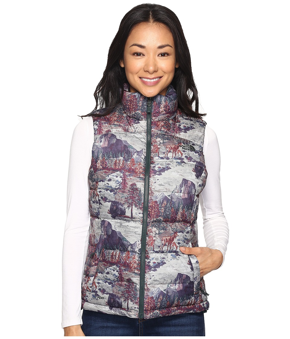 The North Face - Nuptse 2 Vest (TNF Black Yosemite Print (Prior Season)) Women's Vest