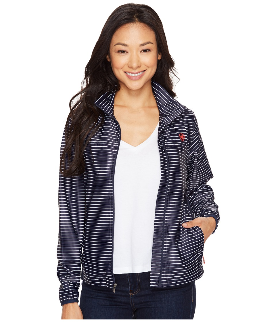Ariat - Ideal Windbreaker Jacket (Navy) Women's Coat