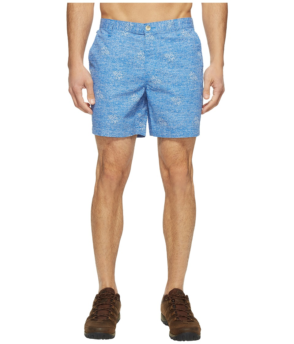 Columbia - Super Bonehead II Shorts (Vivid Blue Botanical) Men's Shorts