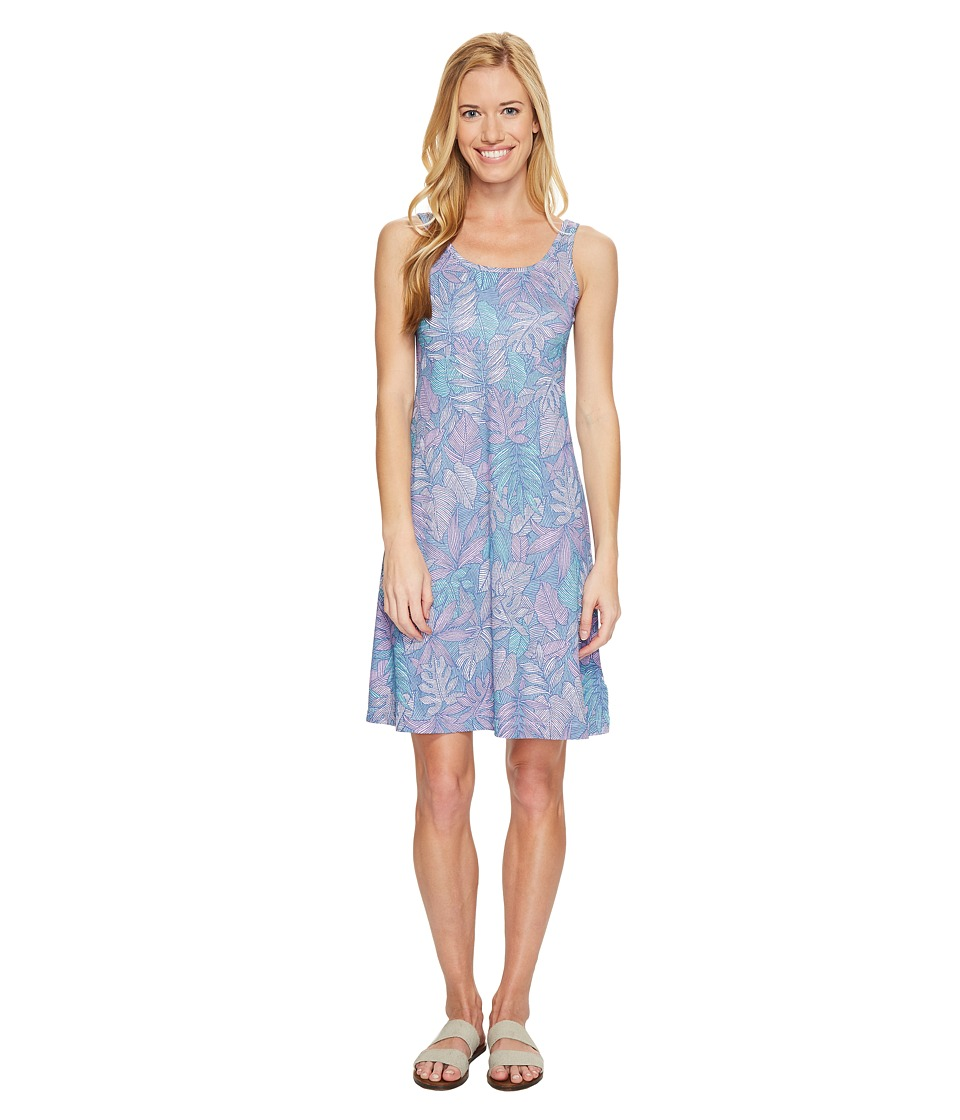 Columbia - Freezertm III Dress (Phantom Purple Tropical Dot) Women's Dress