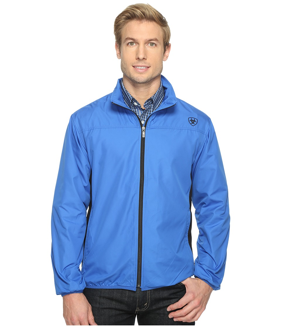 Ariat - Ideal Windbreaker Jacket (Olympian Blue) Men's Coat