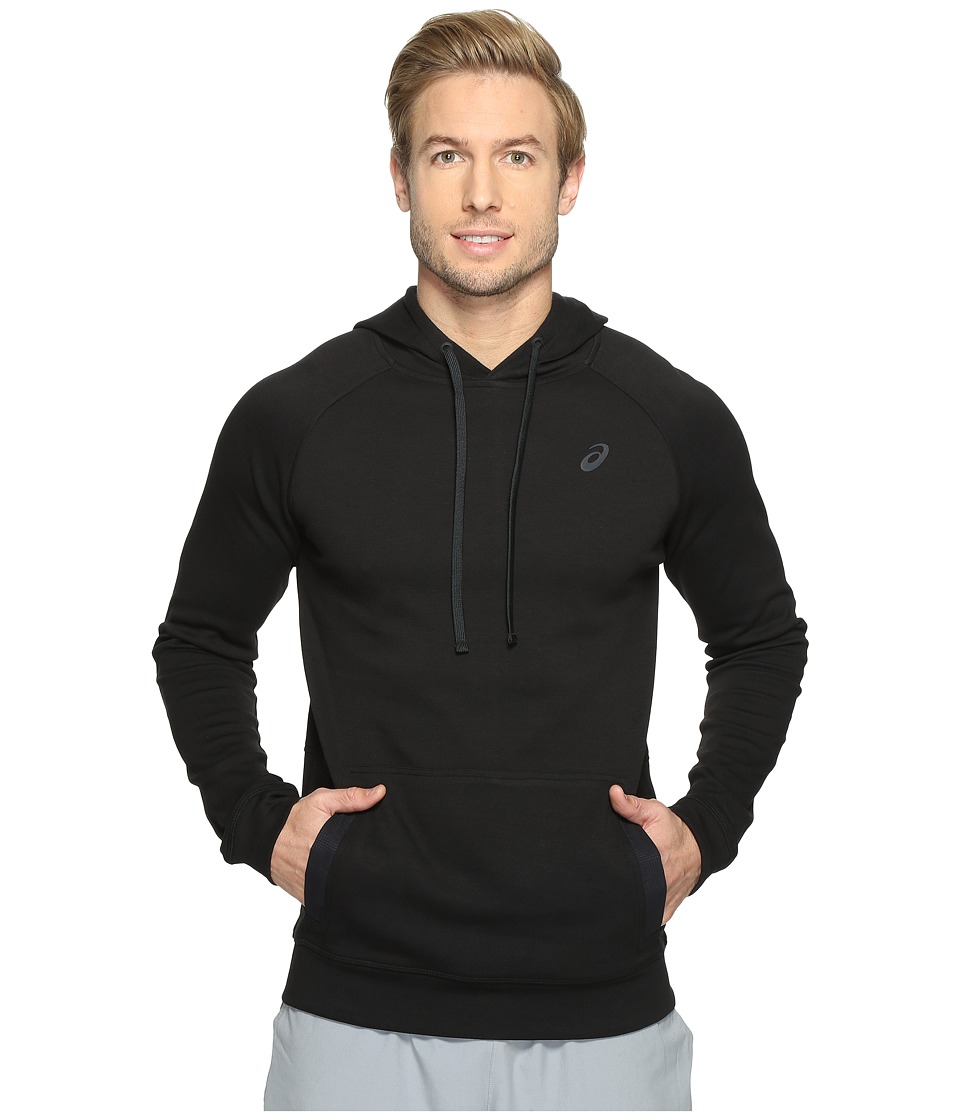ASICS - Fleece Pullover Hoodie (Performance Black) Men's Sweatshirt