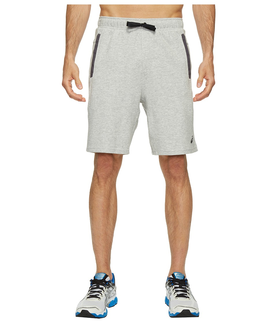 ASICS Knit Shorts (Light Grey Heather) Men