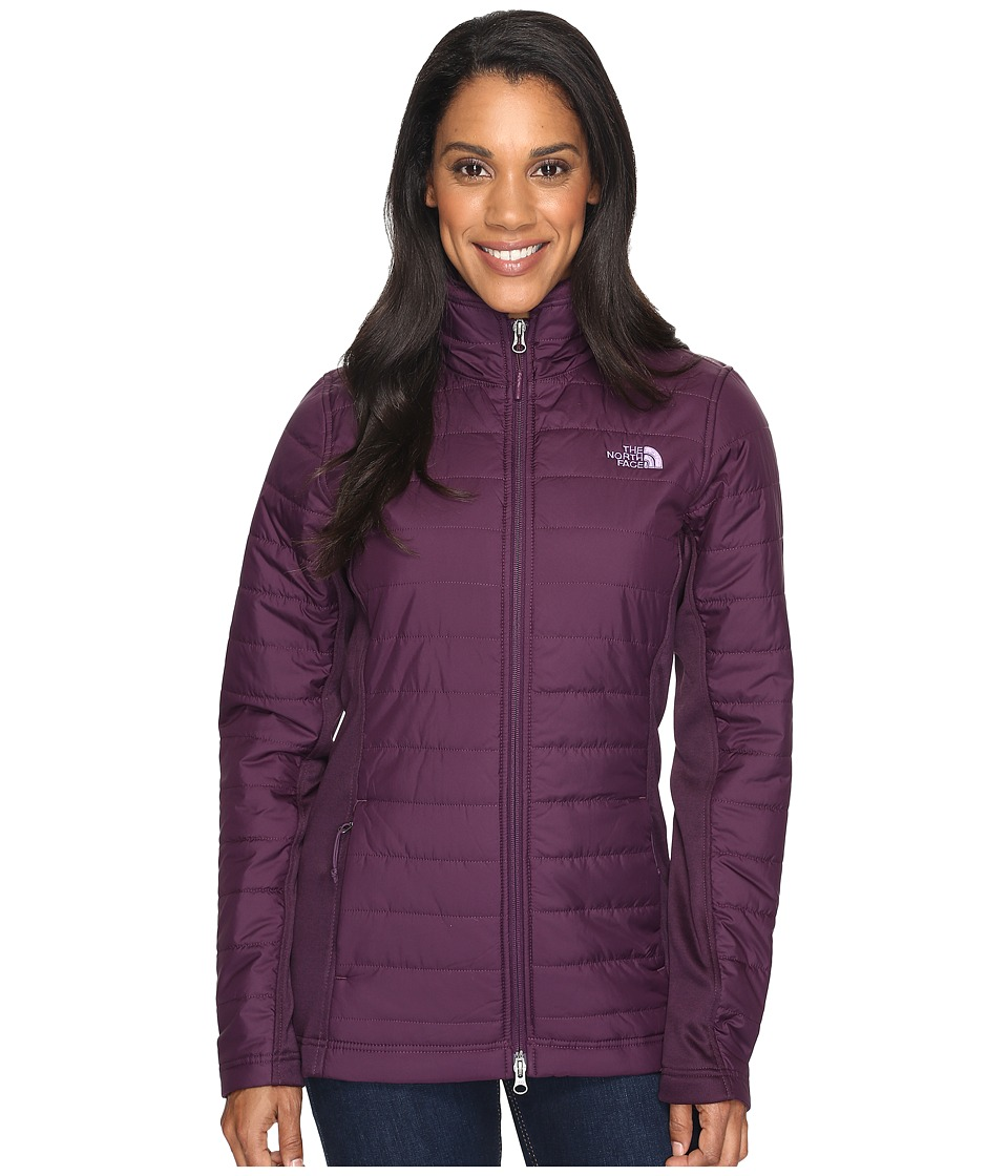 The North Face - Mashup Parka (Blackberry Wine/Blackberry Wine Heather (Prior Season)) Women's Coat