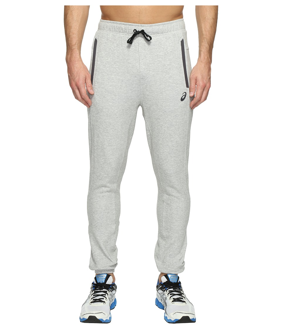ASICS - Fleece Pants (Light Grey Heather) Men's Workout