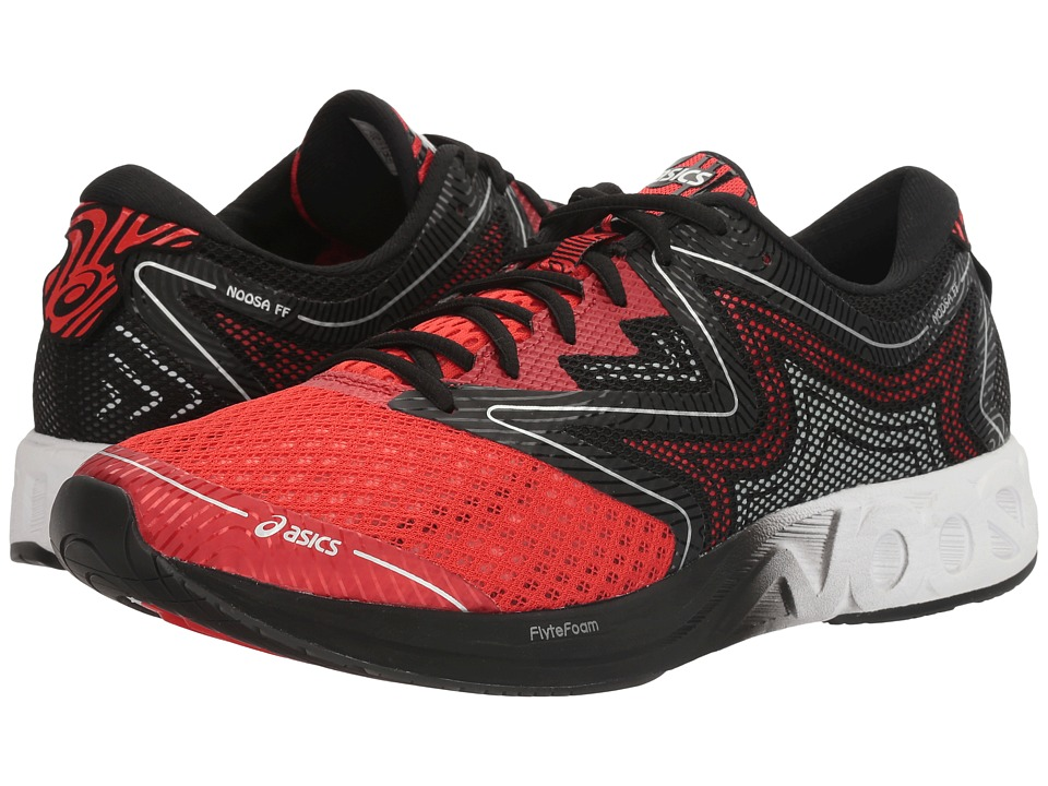 ASICS - Noosa FF (Vermillion/White/Black) Men's Running Shoes