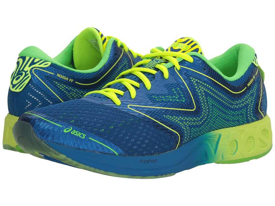 ASICS - Noosa FF (Imperial/Safety Yellow/Green Gecko) Men's Running Shoes