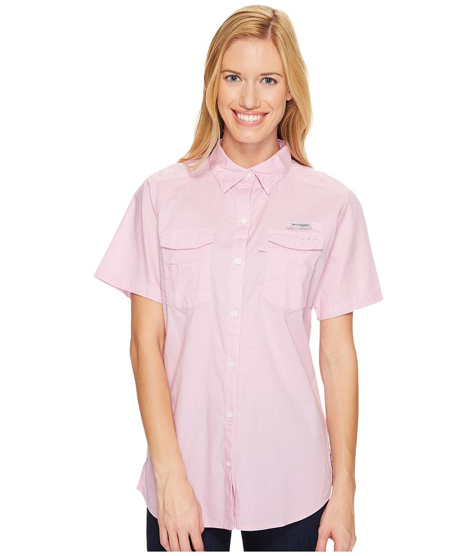 Columbia - Boneheadtm II S/S Shirt (Pink Clover) Women's Short Sleeve Button Up