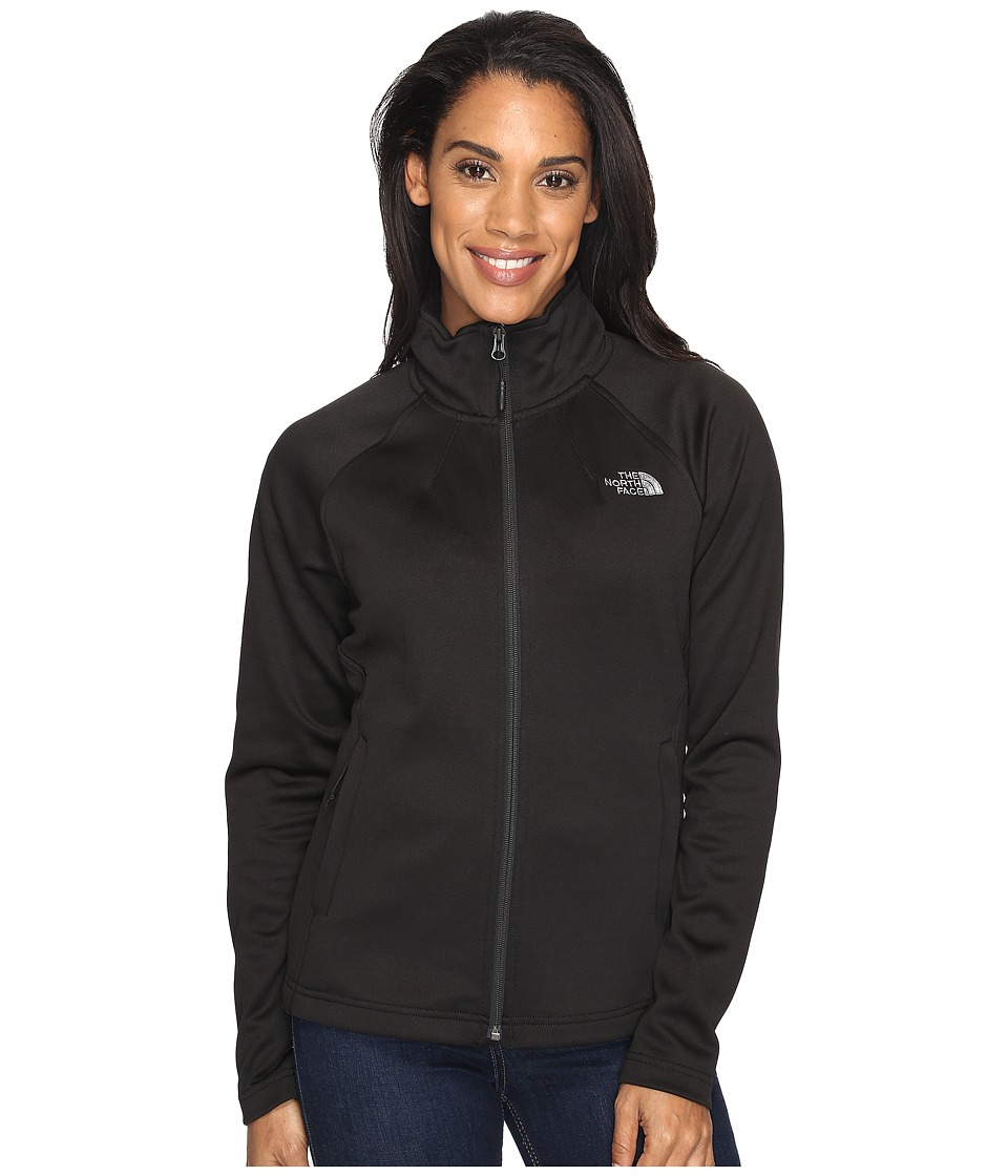 The North Face - Momentum Full Zip Jacket (TNF Black (Prior Season)) Women's Coat