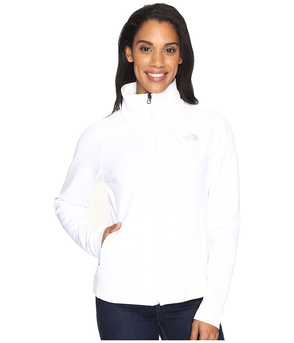 The North Face - Momentum Full Zip Jacket (TNF White (Prior Season)) Women's Coat