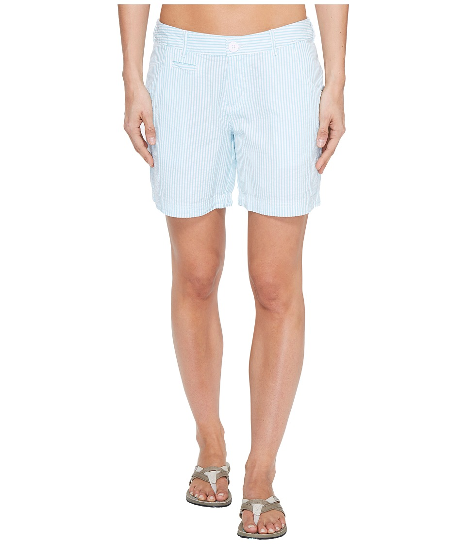 Columbia Super Boneheadtm II Short (Iceberg Seersucker) Women