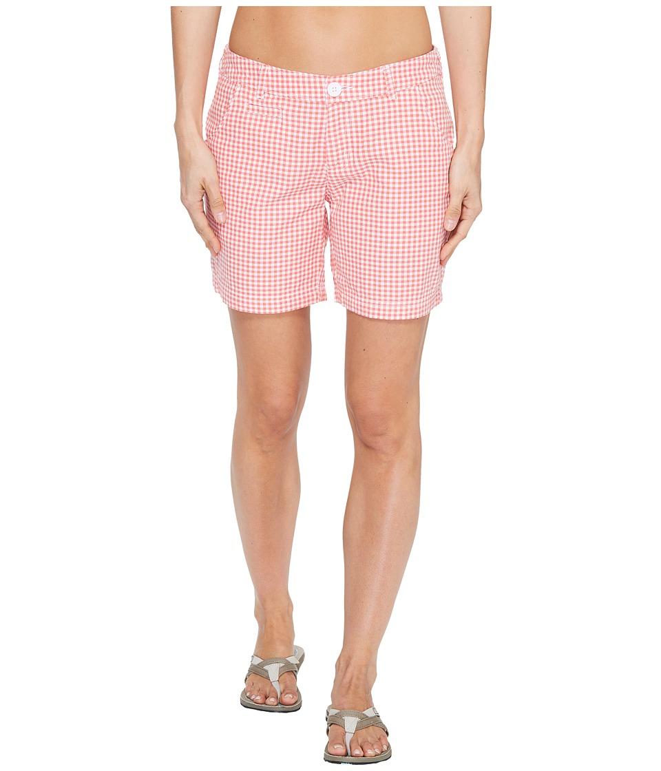 Columbia - Super Boneheadtm II Short (Melonade Gingham) Women's Shorts
