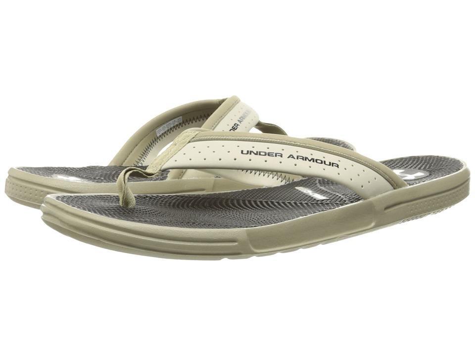 Under Armour - UA Micro Gtm EV T (Dune/Black/Stone) Men's Sandals