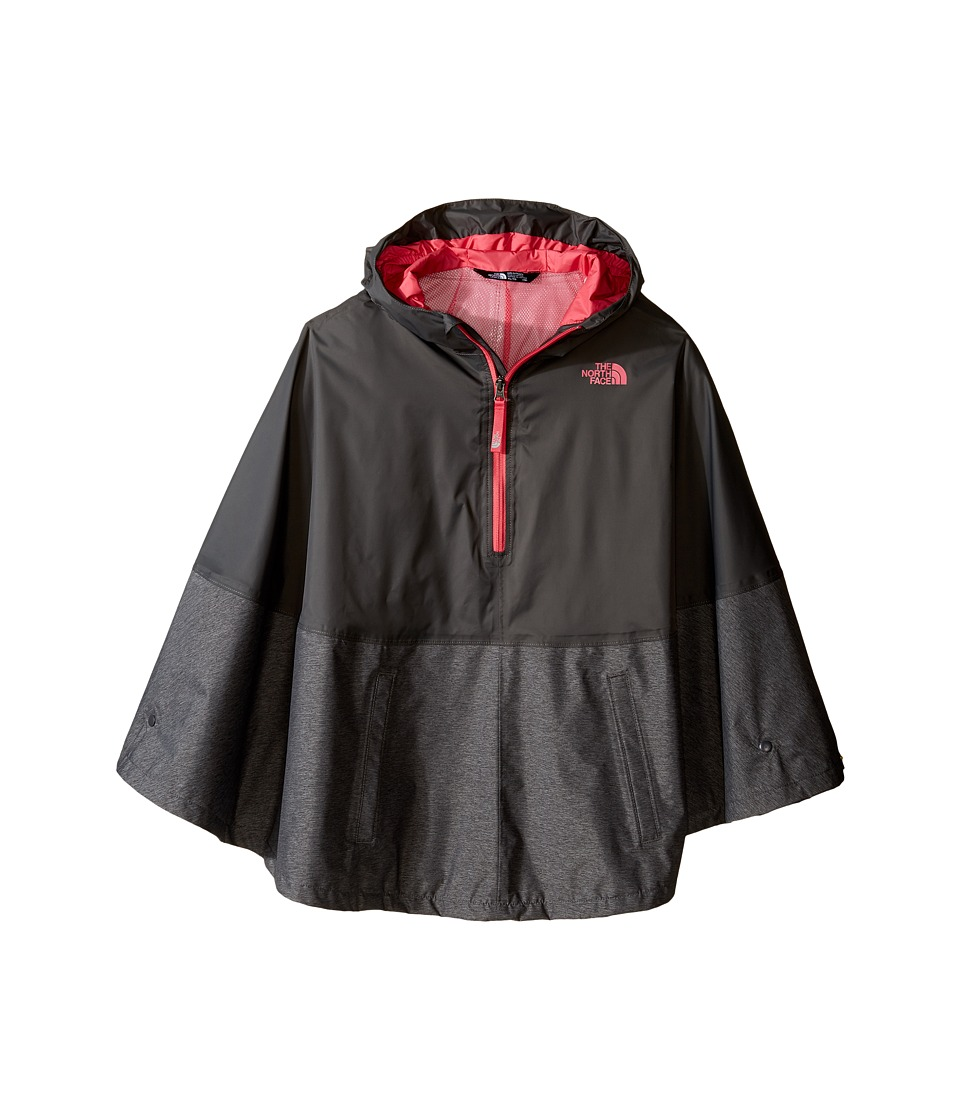 The North Face Kids Camille Rain Poncho (Little Kids/Big Kids) (Graphite Grey (Prior Season)) Girl