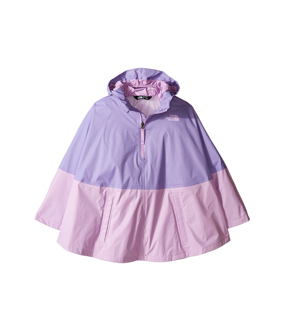 The North Face Kids - Camille Rain Poncho (Little Kids/Big Kids) (Paisley Purple (Prior Season)) Girl's Coat