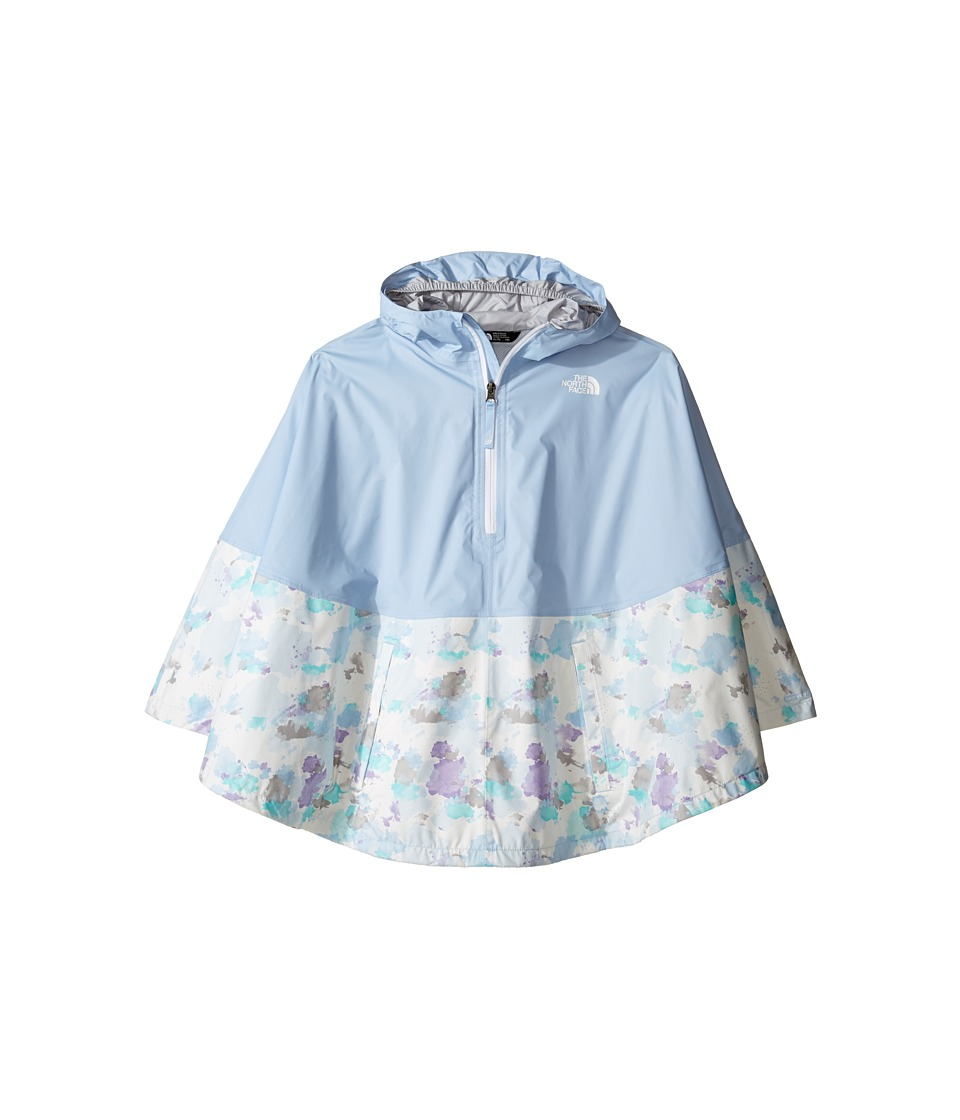 The North Face Kids Camille Rain Poncho (Little Kids/Big Kids) (Chambray Blue (Prior Season)) Girl