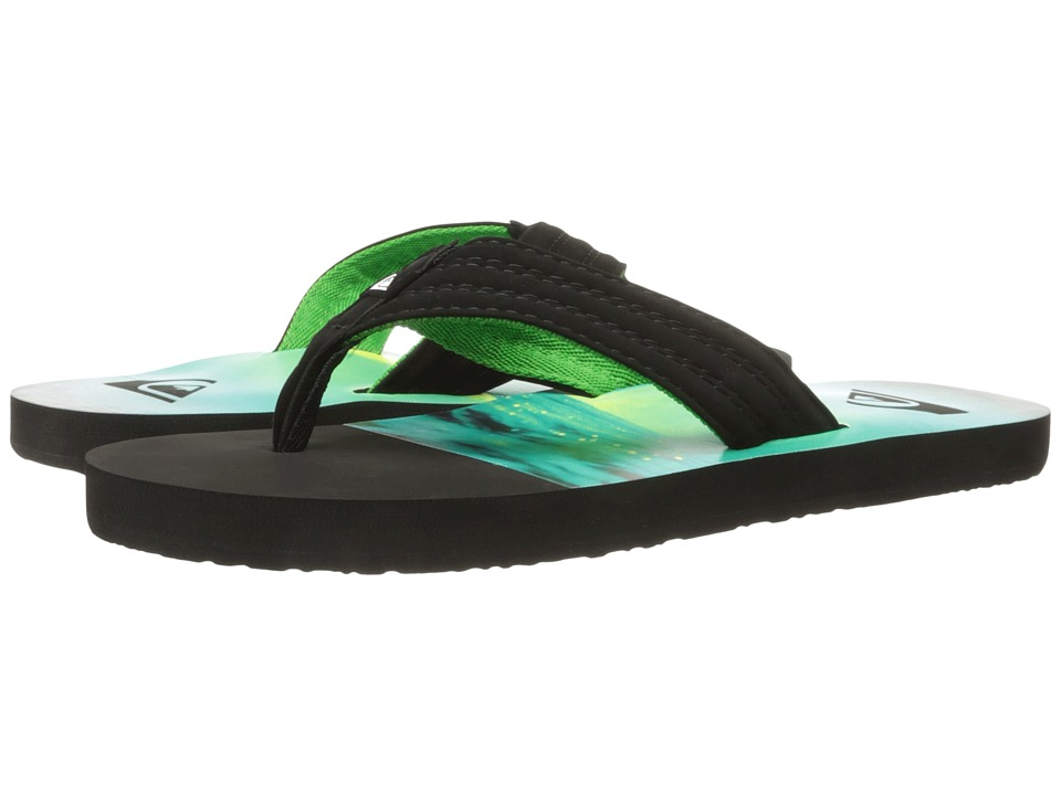 Quiksilver - Basis (Black/Green/Green 2) Men's Sandals