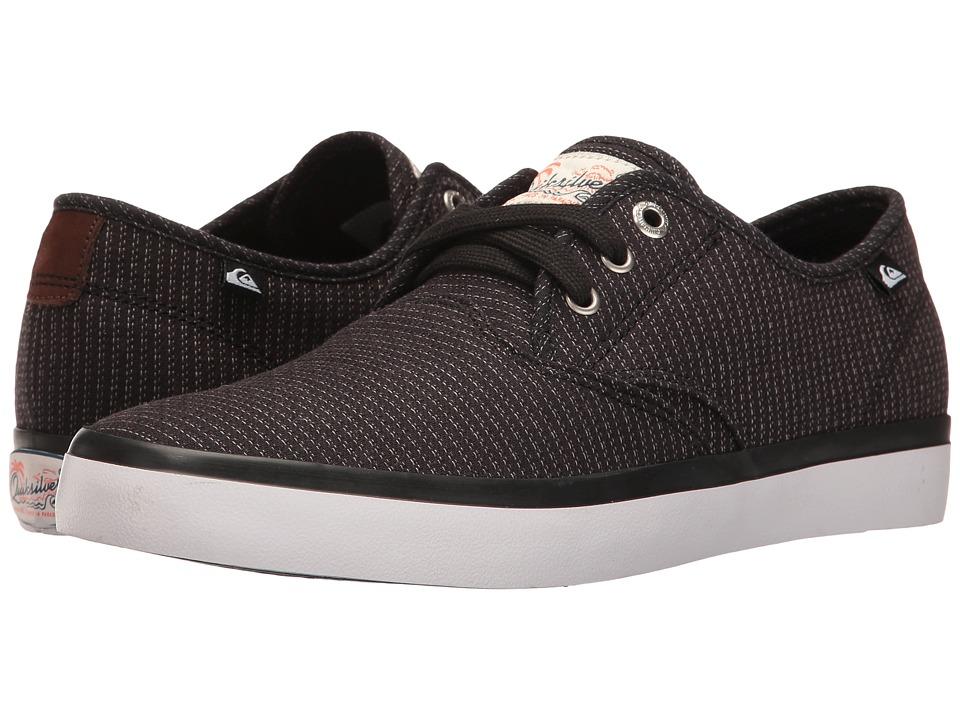 Quiksilver - Shorebreak Deluxe (Black/Grey/White) Men's Lace up casual Shoes