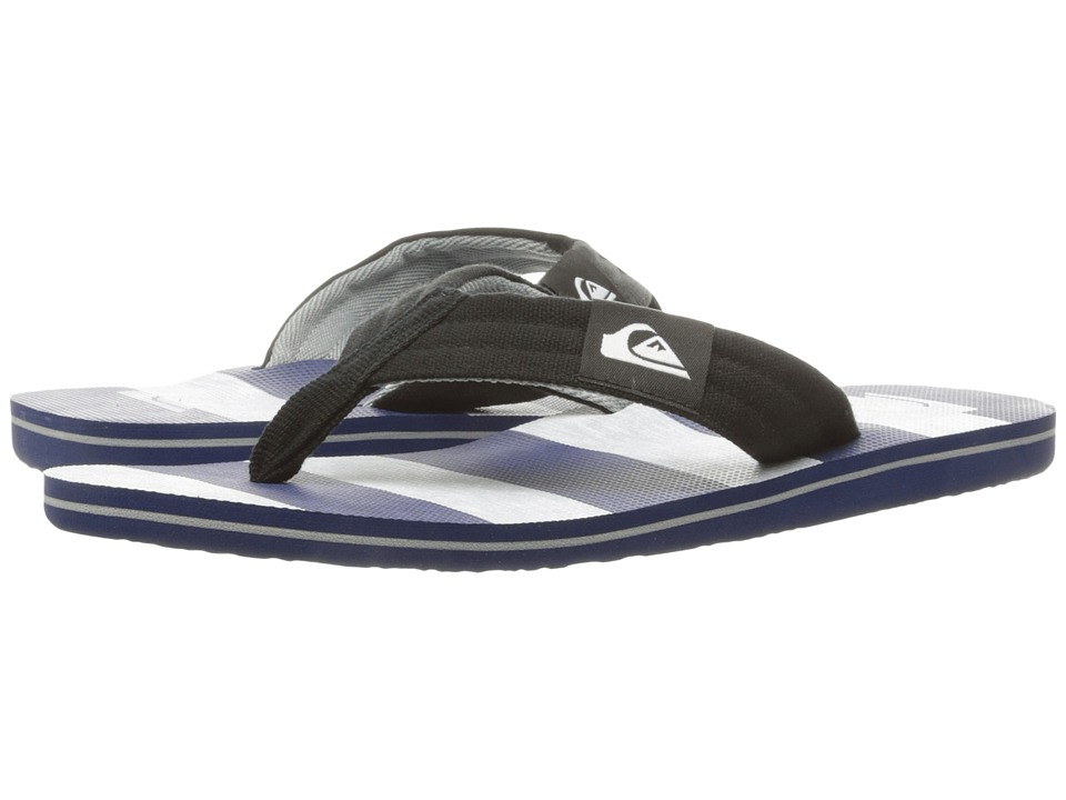 Quiksilver - Molokai Layback (Black/Grey/Blue 2) Men's Sandals