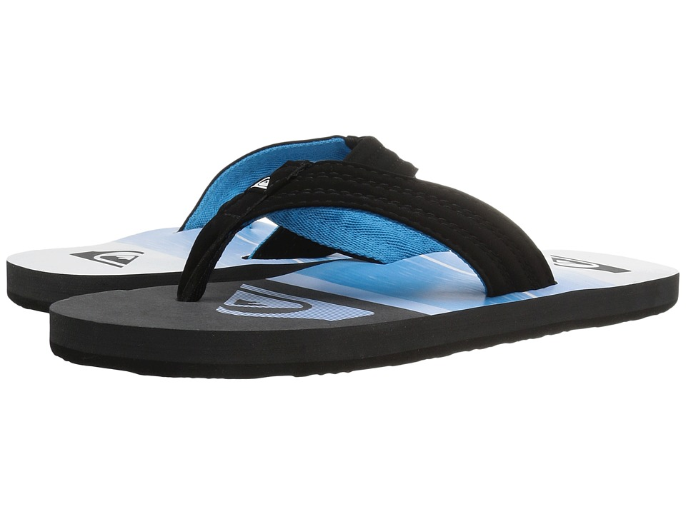 Quiksilver - Basis (Black/Blue/White) Men's Sandals