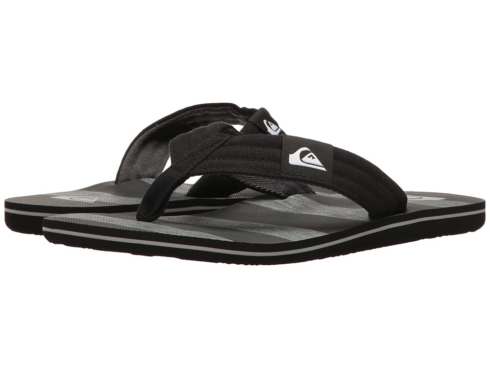 Quiksilver - Molokai Layback (Black/Grey/Black) Men's Sandals