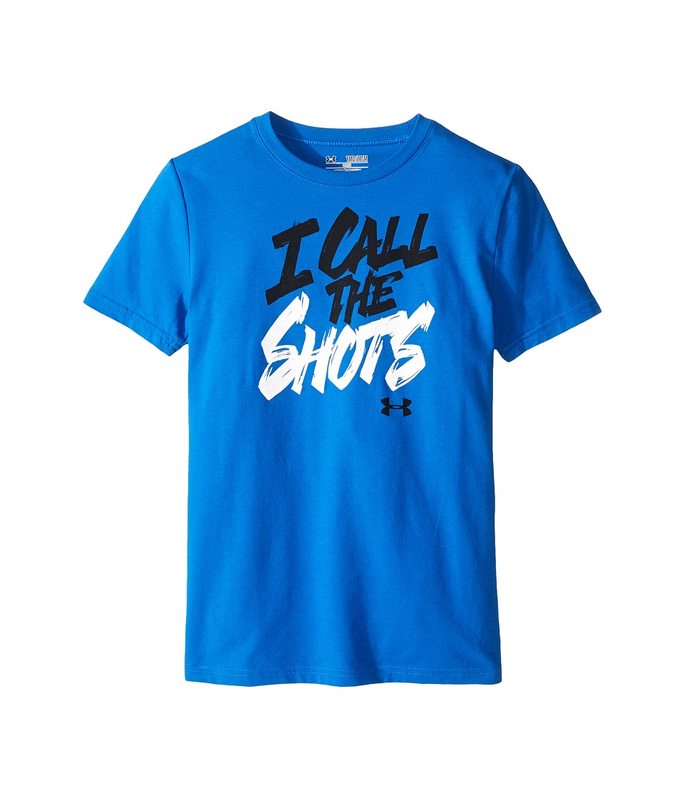 Under Armour Kids - I Call the Shots Short Sleeve Tee (Big Kids) (Ultra Blue/White) Boy's T Shirt
