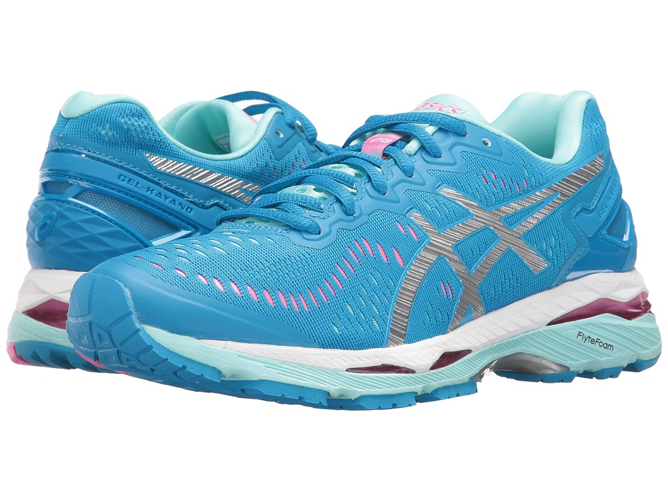 ASICS Gel-Kayano(r) 23 (Diva Blue/Silver/Aqua Splash) Women