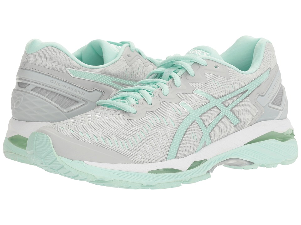 ASICS Gel-Kayano(r) 23 (Glacier Gray/Bay/White) Women