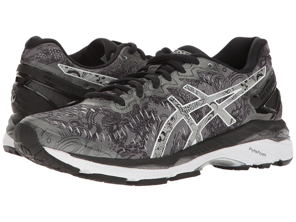 ASICS - Gel-Kayano(r) 23 Lite-Show (Carbon/Silver/Reflective) Women's Running Shoes