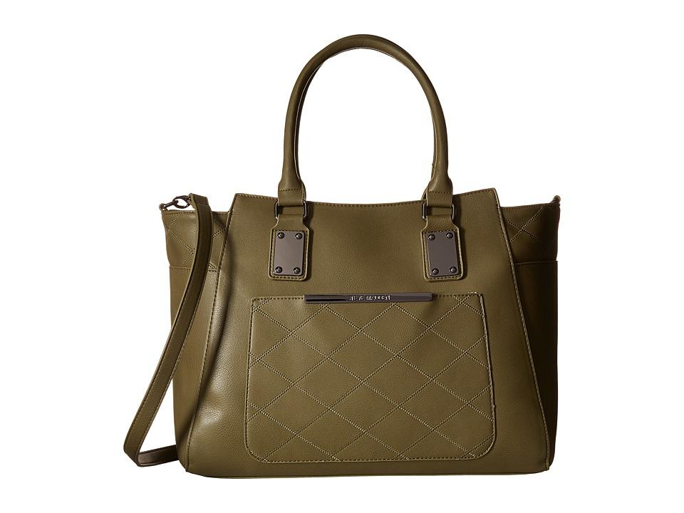 Steve Madden - BLucille Satchel (Olive 1) Satchel Handbags