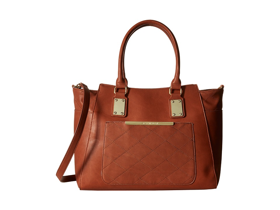Steve Madden - BLucille Satchel (Cognac 1) Satchel Handbags