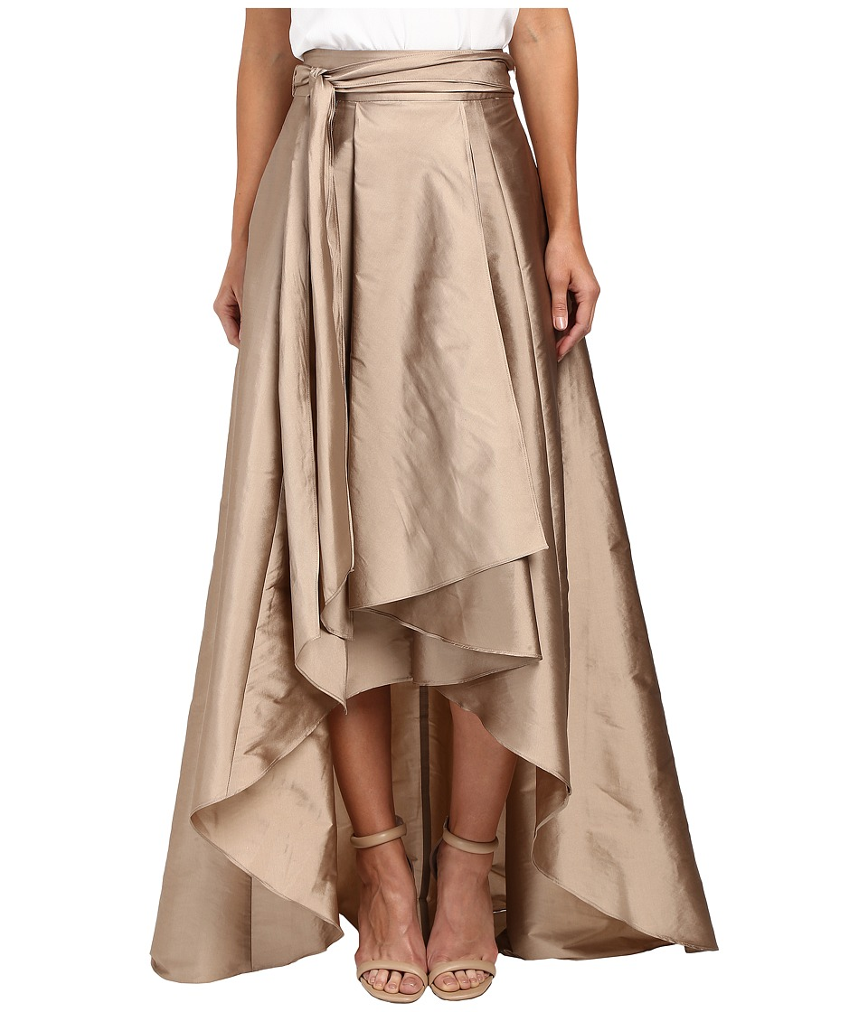 Adrianna Papell - High-Low Ball Skirt (Antique Bronze) Women's Skirt
