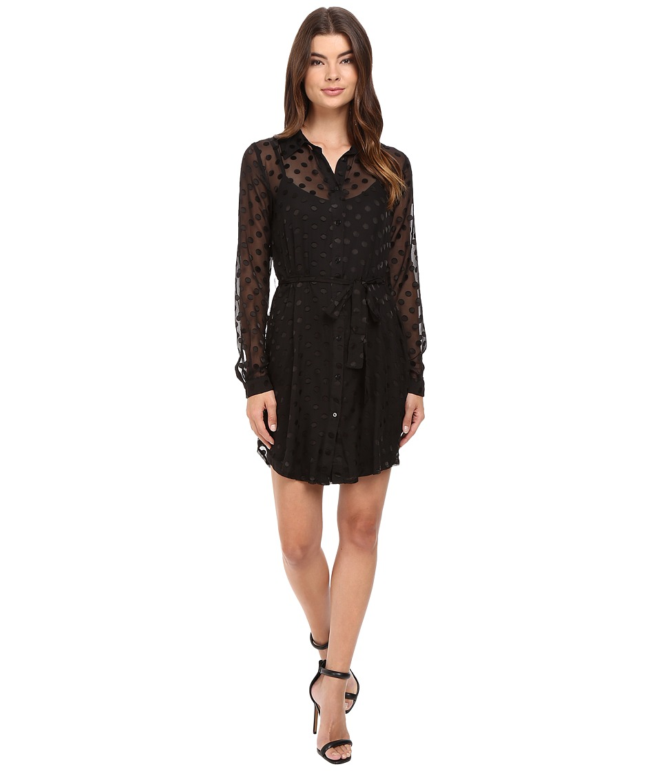 Lovers + Friends - Expedition Shirtdress (Black) Women's Dress